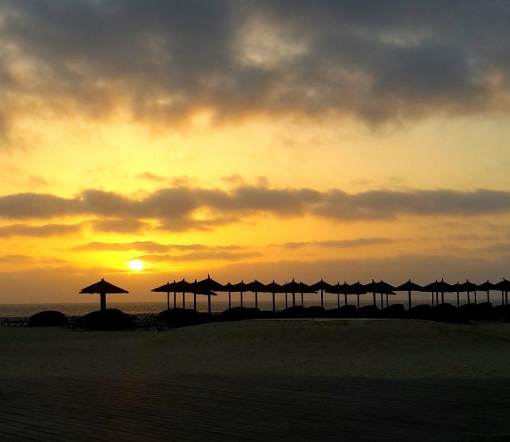 Andy Corby - Cape Verdi - Beach Sunset