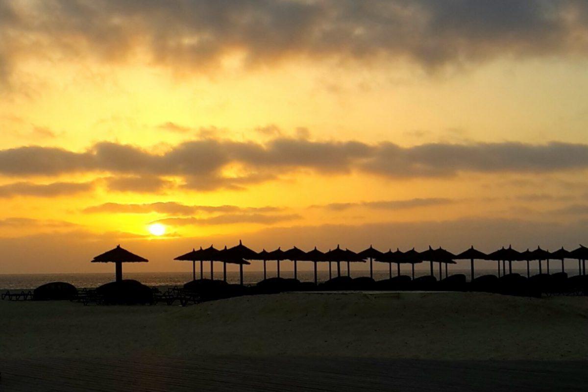 Cape Verdi Beach Sunset