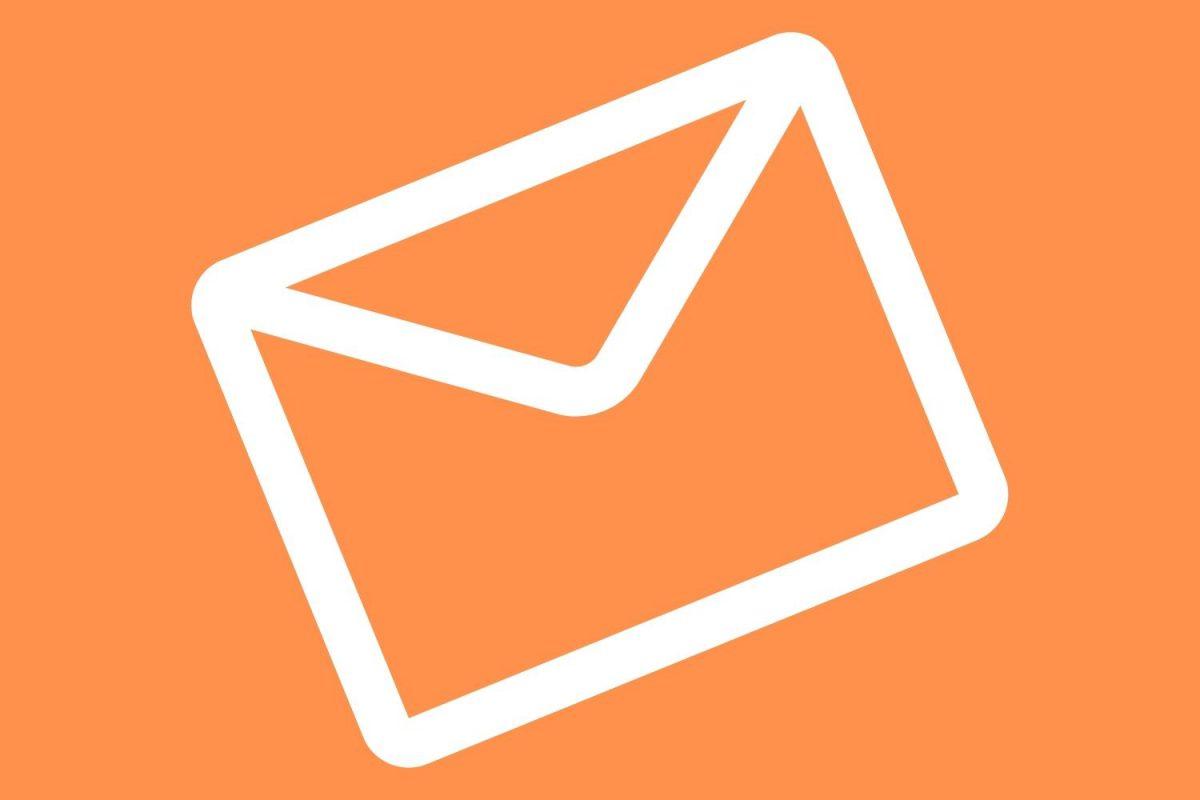 Email Icon - Orange